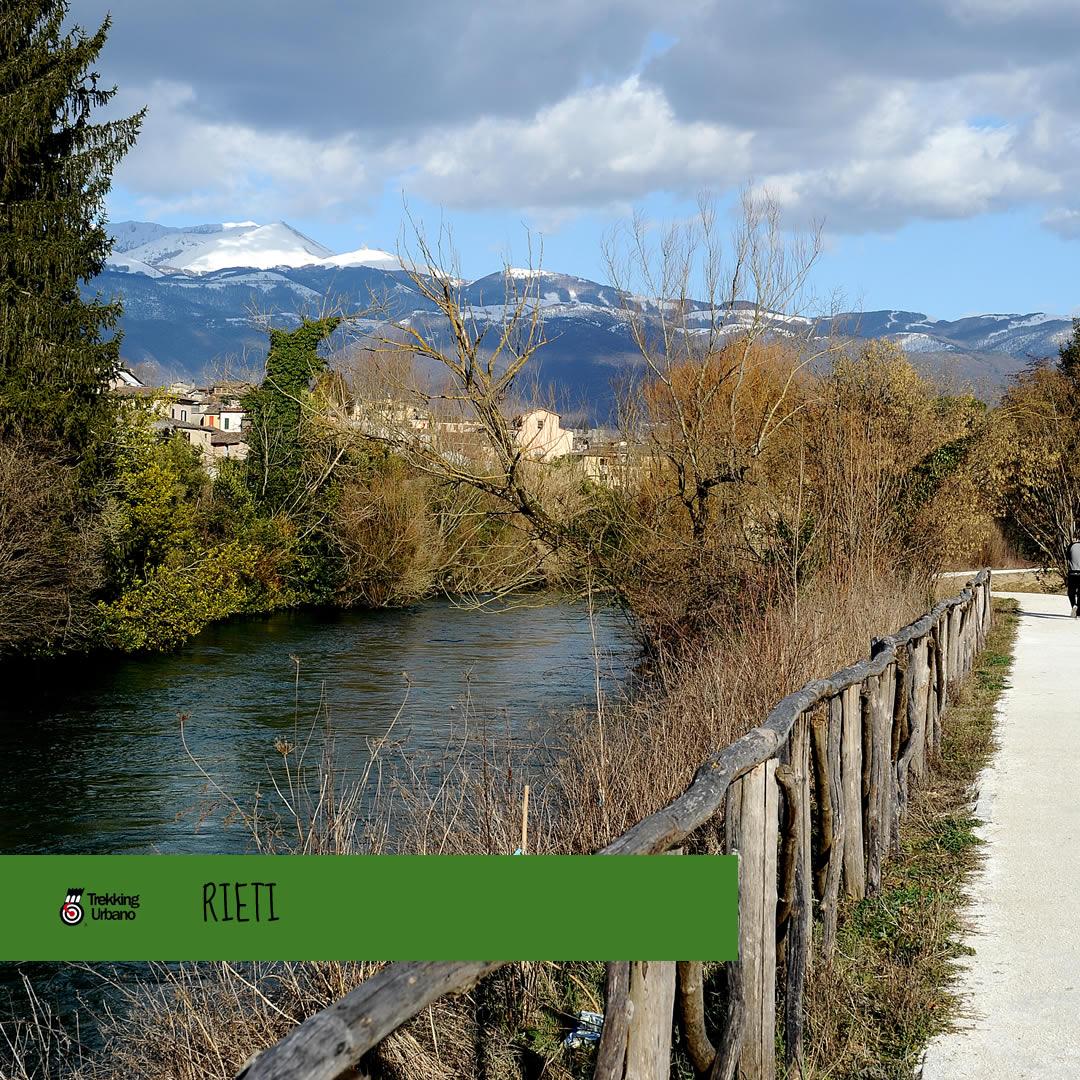Rieti Trekking Urbano 2018