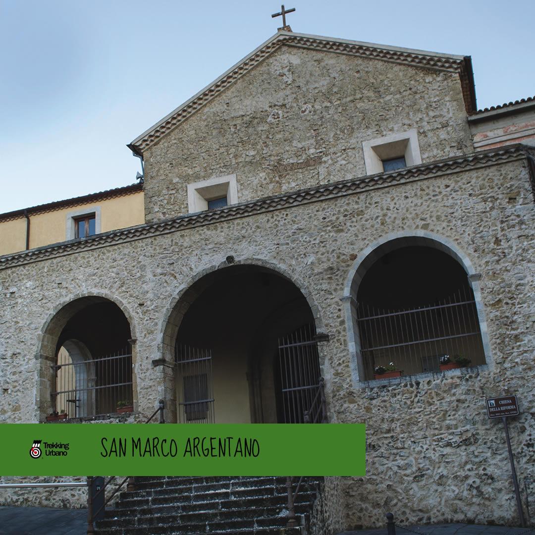 San Marca Argentano Trekking Urbano 2018